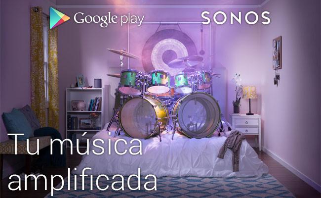 Google Play Music y Sonos