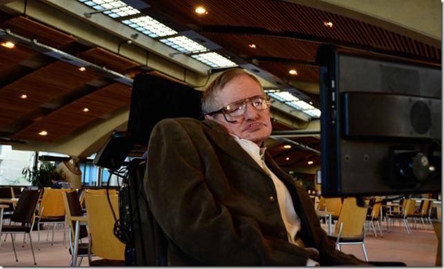 Cambridge, England - Professor Stephen Hawking.(photo credit:  IWC Media / Handel Productions)
