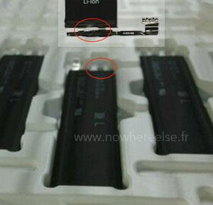 Polos en una bateria del iPhone 6