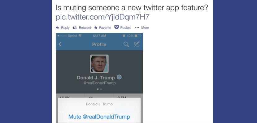 ocultar perfil en twitter1 Twitter comienza a añadir una herramienta que nos permite ocultar perfiles
