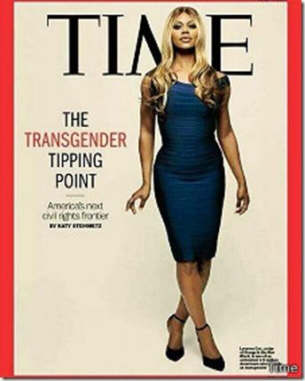 Laverne Cox es la primera persona transexual que aparece en la portada de la revista Time.