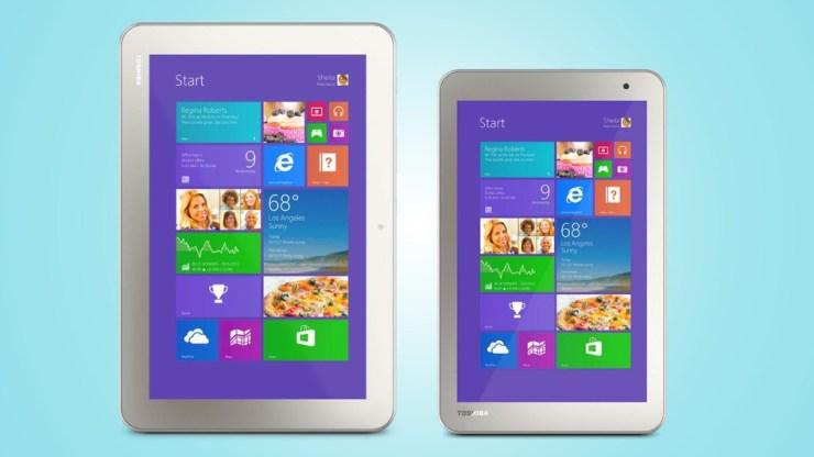 Toshiba Encore 2, tablets Windows desde 199 dólares