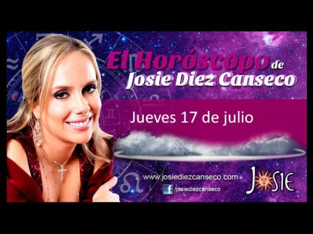 Josie Diez Canseco: Horóscopo del jueves 17 de julio (VIDEO)