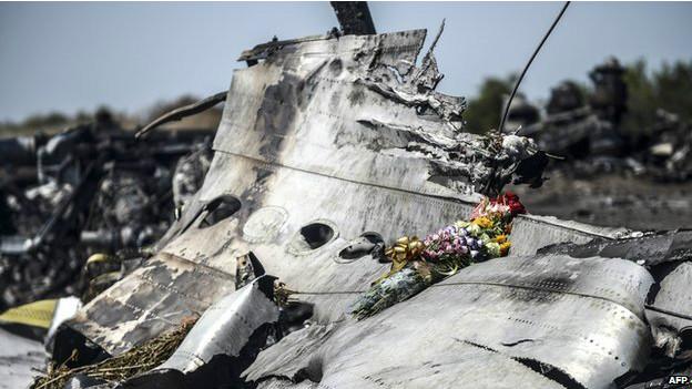 Restos del MH17
