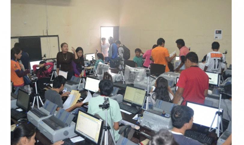 Los estudiantes tienen una hora para responder el examen.