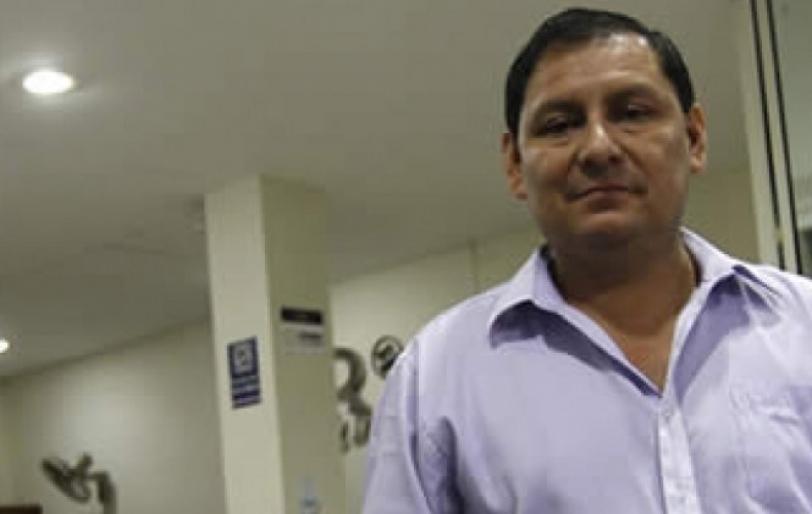Eulogio Núñez es el presidente del TDE de Santa Cruz.