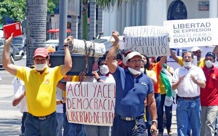 Reporteros-Sin-Fronteras-denuncia--clima-hostil--hacia-la-prensa-en-Bolivia