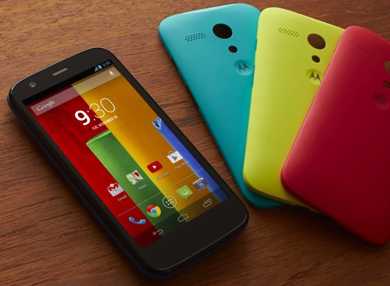 Moto G Color Edition