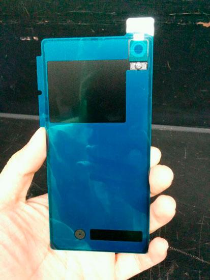 Carcasa trasera del Sony Xperia Z3
