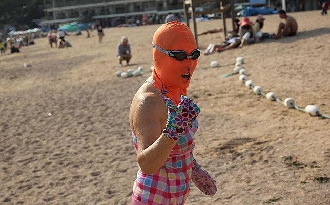 El «bikini facial», la nueva moda anti-moreno