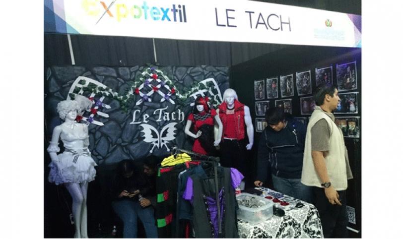 Con 150 expositores la Expotextil recibió 4 mil visitantes.
