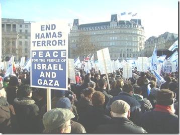 manifestantes en londres