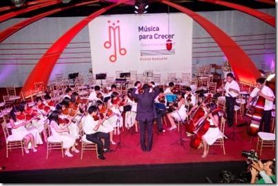 En la primera versión las ganadoras fueron la Sinfónica de Tarija y la orquesta San José Patriarca.