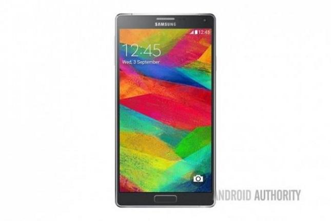 Galaxy Note 41 El Galaxy Note 4 se deja ver en su primera imagen oficial y en un peculiar vídeo