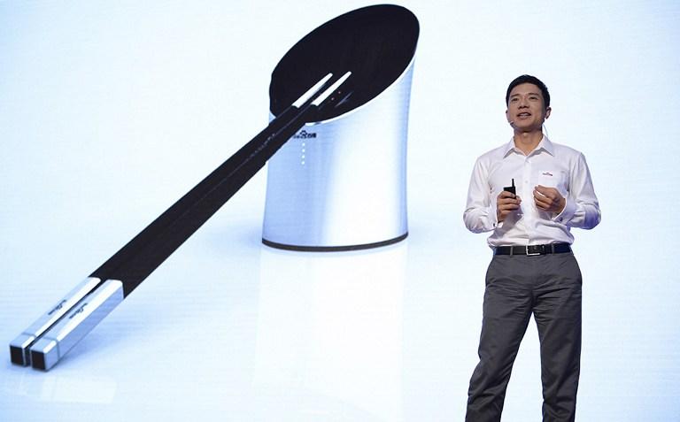 CHINA-FOOD-TECHNOLOGY-HEALTH-OFFBEAT
