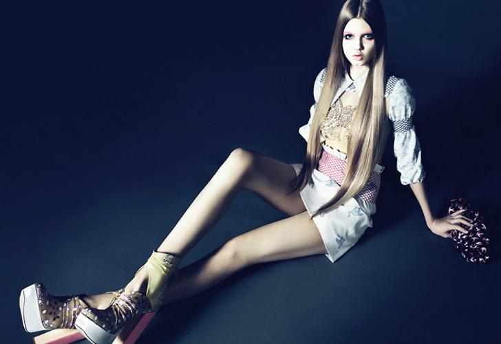 Lindsay Wixson tiene 20 años y un hermoso contrato con Versace, lo que sumó para que acumulara US$ 3 millones.