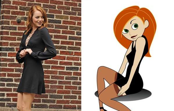 Emma Stone vs. Kim Possible