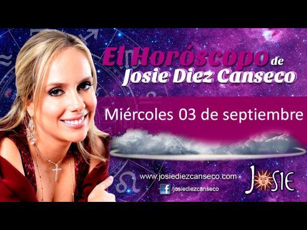 Josie Diez Canseco: Horóscopo del miércoles 03 de septiembre