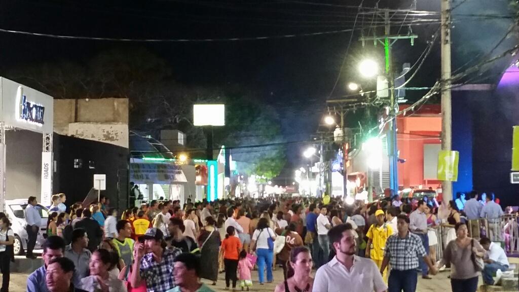 Primer día de la Feria