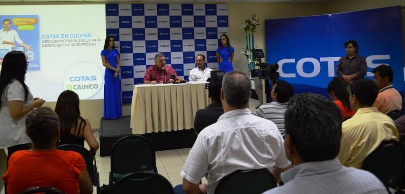 CAINCO y COTAS acuerdan alianza estratégica en beneficio de empresas