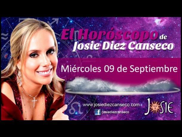 Josie Diez Canseco: Horóscopo del miércoles 10 setiembre (VIDEO)