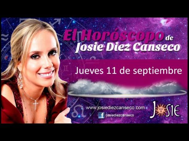 Josie Diez Canseco: Horóscopo del jueves 11 septiembre (VIDEO)