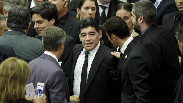 Diego Maradona, en Roma. (EFE)
