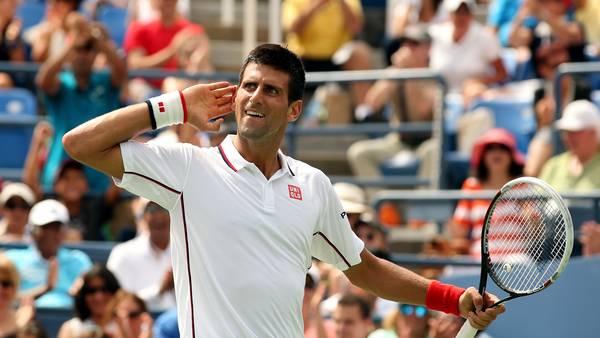 Djokovic avanza a paso firme en Nueva York. (AFP)