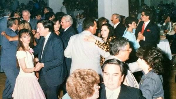 Foto de baile de Cristina y Néstor Kirchner