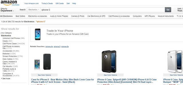 amazon iphone 6