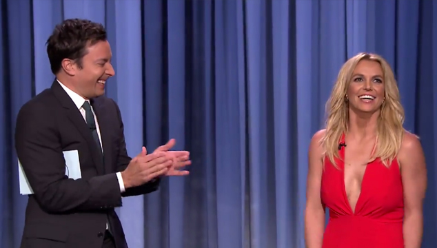 imagen Los pros y contras de salir con Britney Spears según Jimmy Fallon (VIDEO)