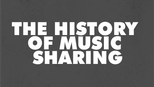 imagen 500 años de compartir música, resumidos en una infografía