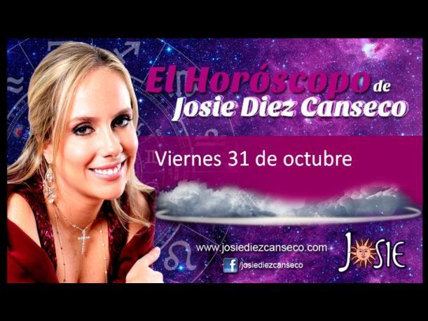 Josie Diez Canseco: Horóscopo del viernes 31 de octubre (FOTOS)