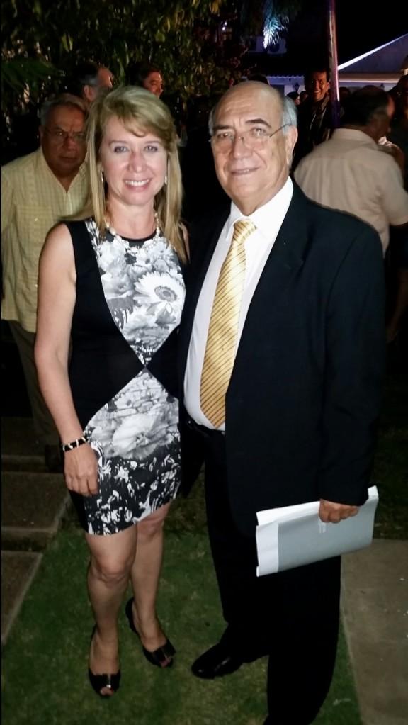 Directorio UDIME: Dra. Desiré Mostajo y Dr. Carlos Paniagua