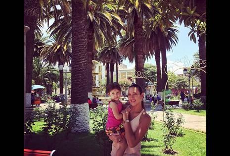 'Kathe' también se llevó con ella a su pequeña hija Leticia,