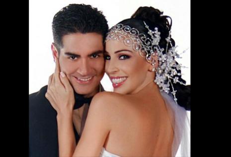 Esta es una foto tomada por Pablo Manzoni, en la noche de su  matrimonio