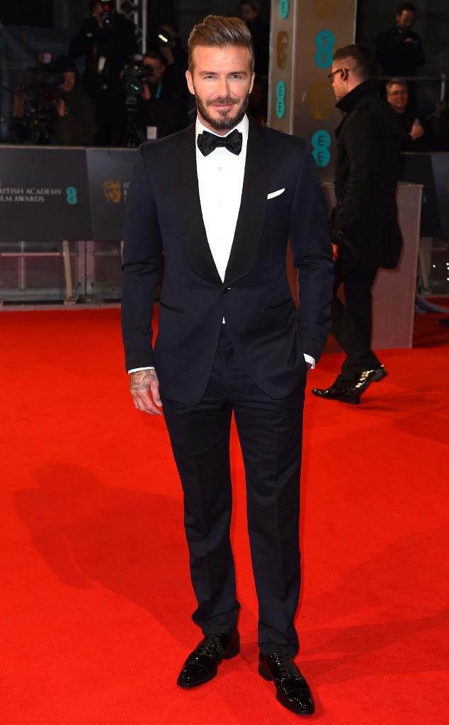 David Beckham, British Academy Film Awards