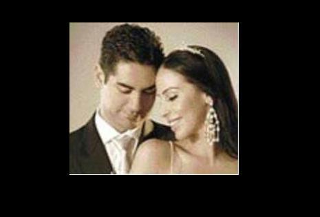 Antes de casarse, en una sesión de fotos como pareja