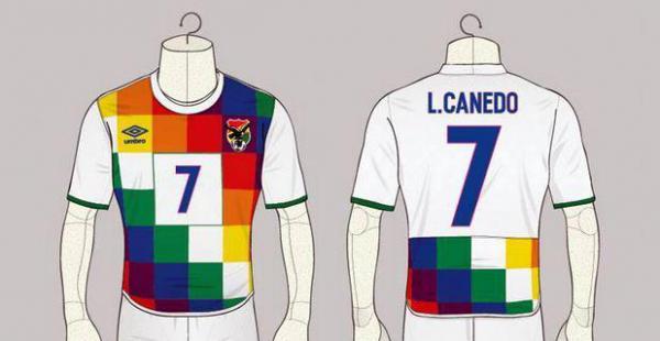 Whipala inspira camiseta para la selección nacional