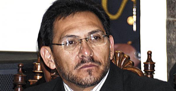 El ministro de Trabajo, José Gonzalo Trigoso