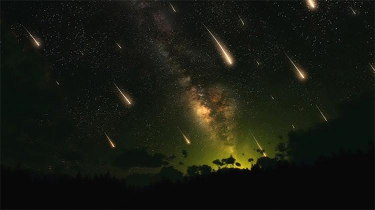 Una doble lluvia de meteoritos simultánea iluminará el cielo del planeta»