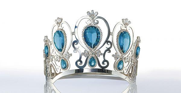 La corona de plata que portará la futura miss Santa Cruz reune los más finos detalles, dignos de una reina