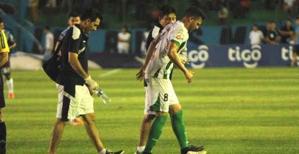 Meleán salió lesionado tras sufrir un golpe en el tobillo en el pasado clásico