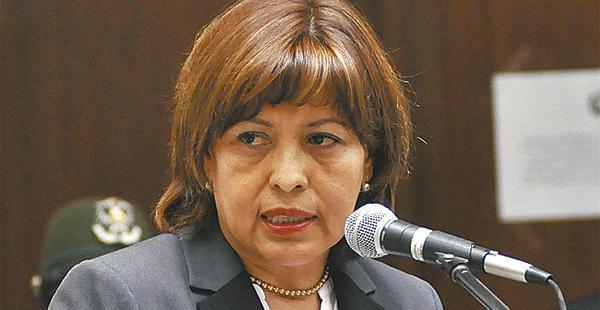 La exministra de Transparencia y Lucha Contra la Corrupción también forma parte del Consejo Marítimo boliviano.