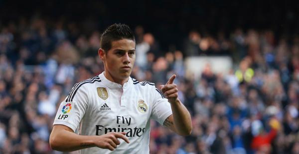 James Rodríguez llegó el 2014 a formar parte de las filas de Real Madrid
