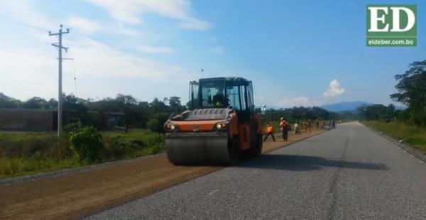 La entrega de los 47,3 km pavimentados hasta Isinuta se hará en abril de 2016