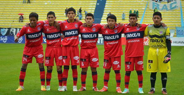 Estos fueron los futbolistas juveniles que se enfrentaron a Bolívar en la decimoquinta fecha del Clausura. La 'U' de Sucre cayó por 3 - 0, en el Hernando Siles