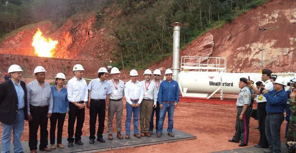 Repsol informó que el pozo Margarita 7 aporta 3 millones de metros cúbicos día de gas (mm3d) lo que permite garantizar los 18 mm3d que el bloque Caipipendi programó