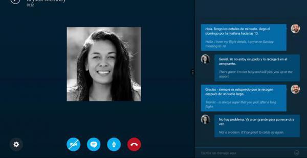 Skype traductor