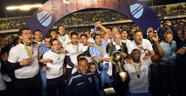 Bolívar se coronó bicampeón del fútbol boliviano. Es el vigésimo título que gana la academia paceña